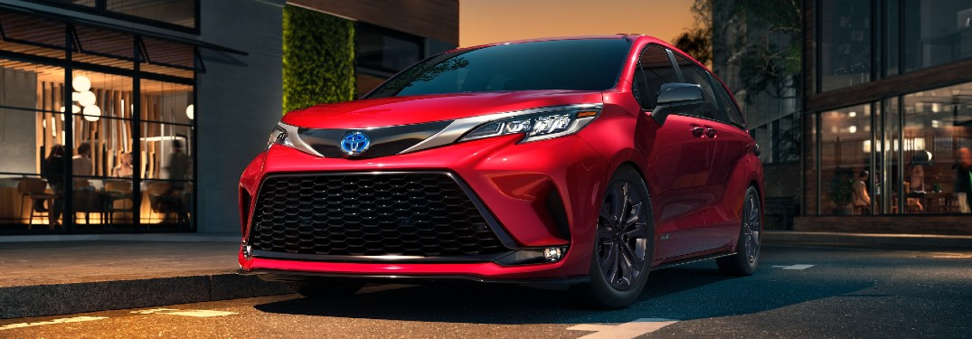 What is the Toyota Driver's Companion Feature for the 2021 Toyota Sienna?