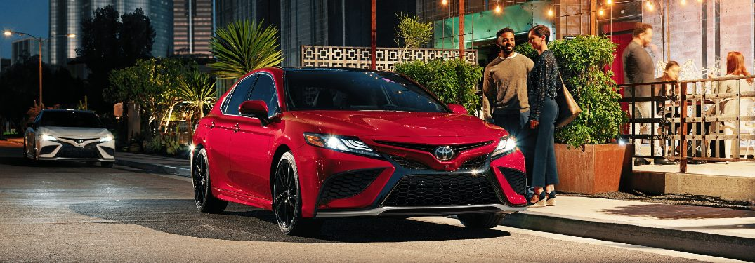 Advanced Technology Features for the 2021 Toyota Camry Sedan