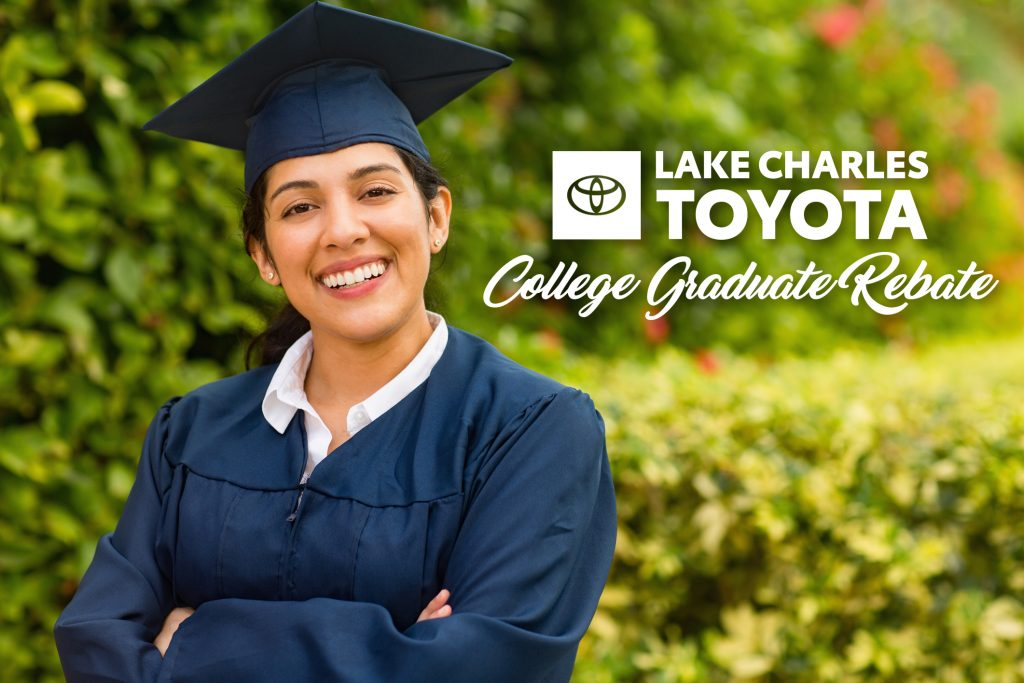 TOYOTA OFFERS REBATE TO COLLEGE GRADS