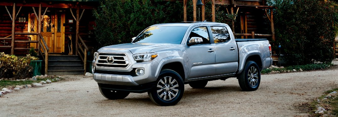 Exterior Color Options Available for the 2021 Toyota Tacoma