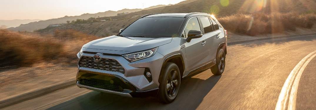 How Much Cargo Room is Available Inside the 2021 Toyota RAV4?