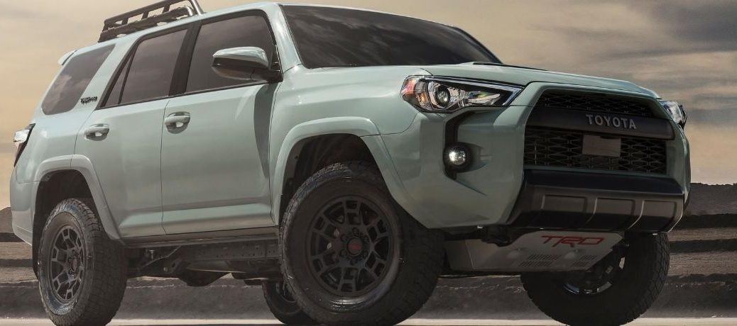 2022 Toyota 4Runner exterior side view