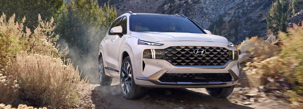 2021 Santa Fe driving in mountains