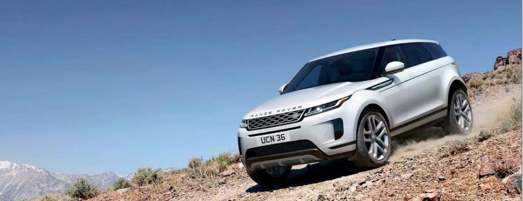 2021 Land Rover Range Rover Evoque driving