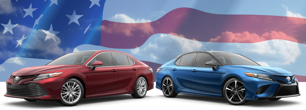 The Toyota Camry More Made In America Than Ford Fusion Nissan Altima Hyundai Sonata And Kia Optima
