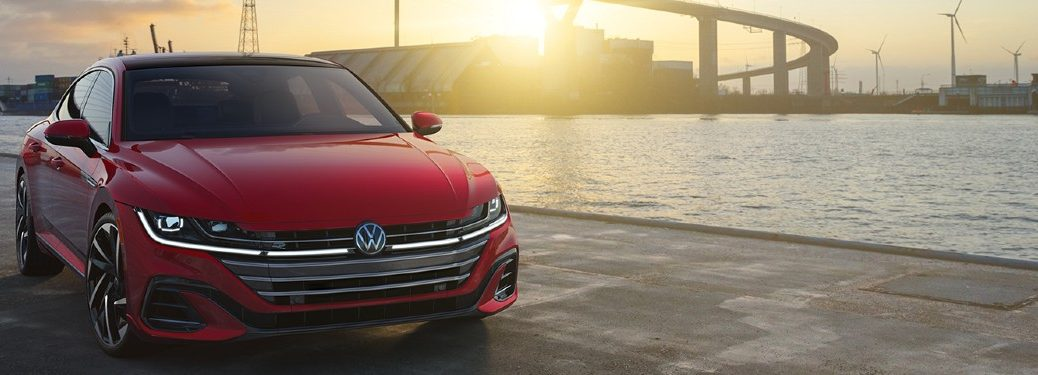 2021 Volkswagen Arteon front and side profile