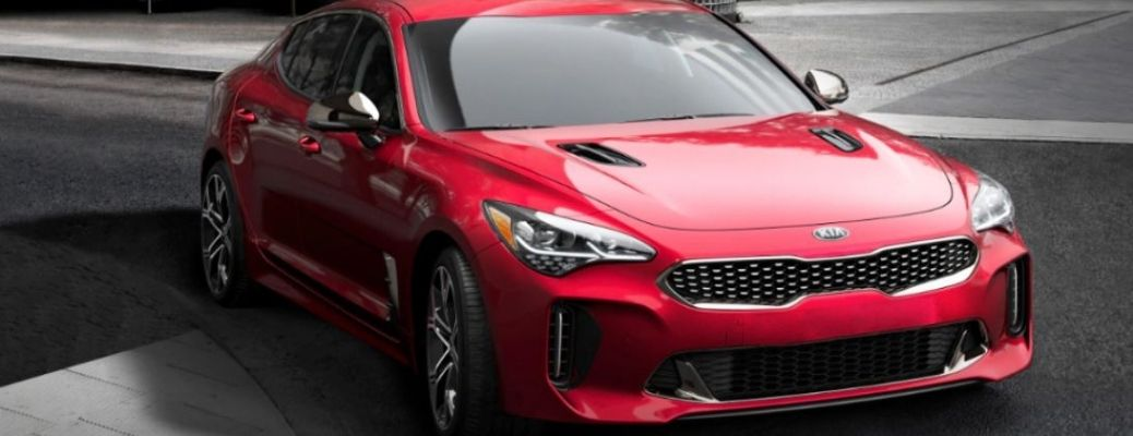 2021 Kia Stinger parked outside front view