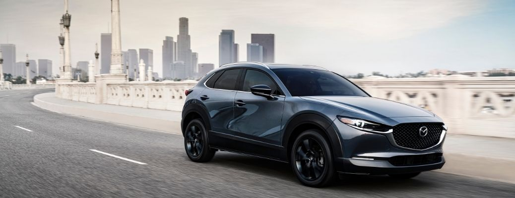2021 Mazda CX-30 on a road