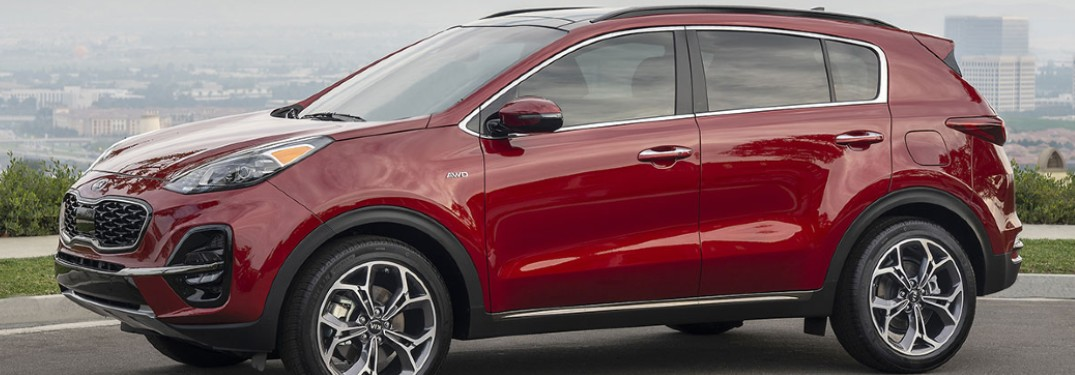 What Technology is Available in the 2020 Kia Sportage?