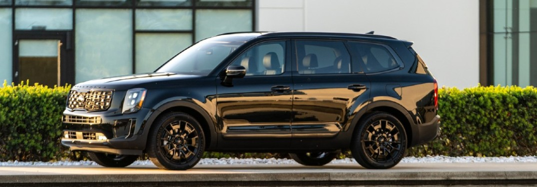 Check Out this Walkaround Footage of the 2021 Kia Telluride Nightfall Edition