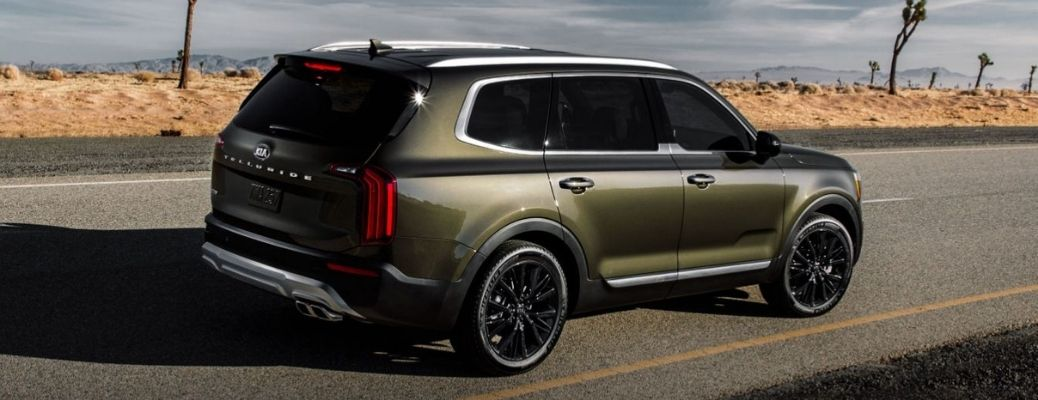 2021 Kia Telluride Rear and Side View