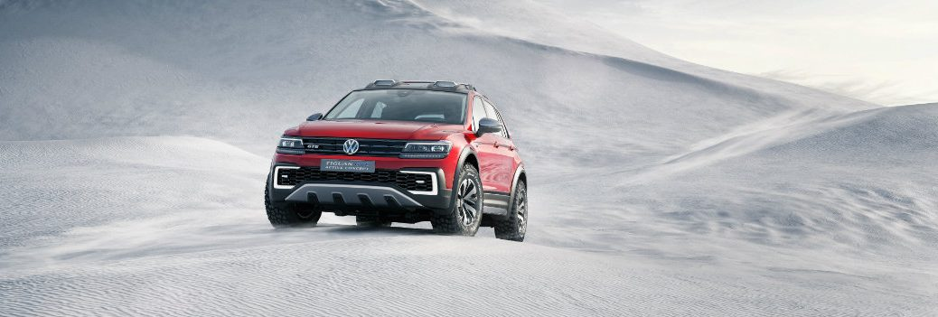 VW Tiguan GTE Active Technology and AWD System