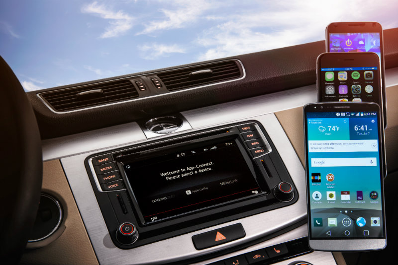Volkswagen Infotainment App Connect