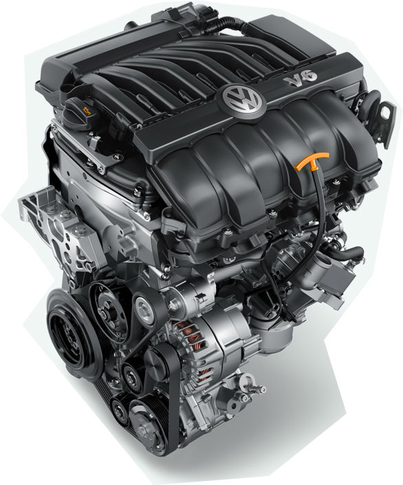 V6 Passat Engine Option