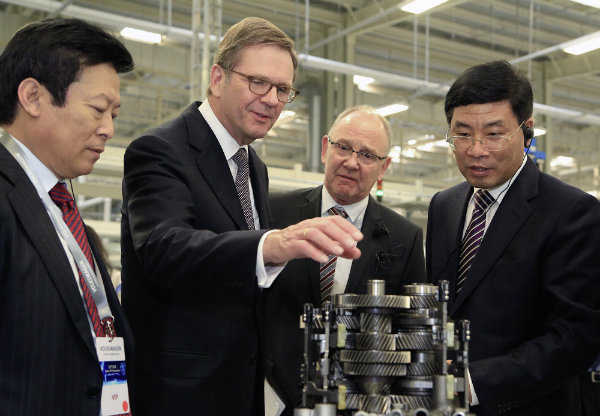 Volkswagen Inaugurates Components Plant in Tianjin North China