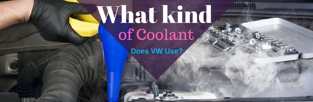 What kind of coolant does VW use?