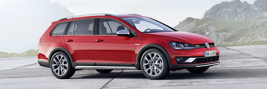 2017 Volkswagen Golf Alltrack features and trims