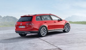 Golf Sportwagen Alltrack rear end