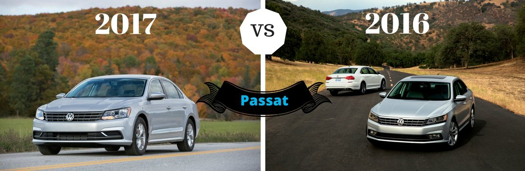 What's the difference between 2017 and 2016 VW Passat?