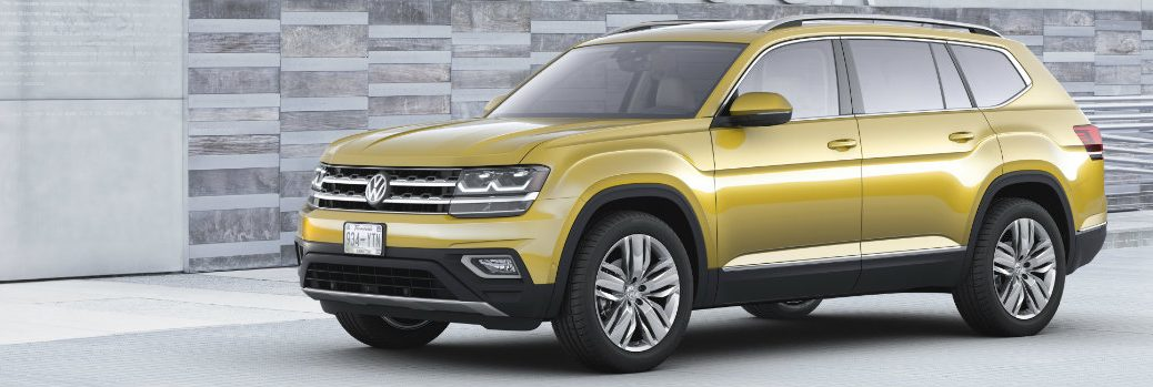 Seven-Passenger 2018 Volkswagen Atlas Color Options