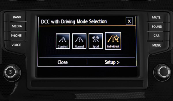 2017 VW Golf GTI and Golf R Driving Mode Selection