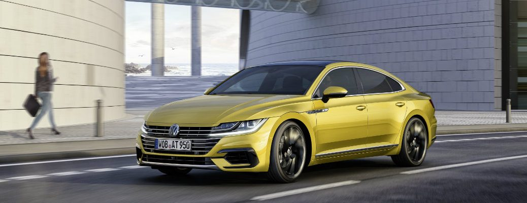 VW Arteon Makes its Debut at 2017 Geneva Auto Show