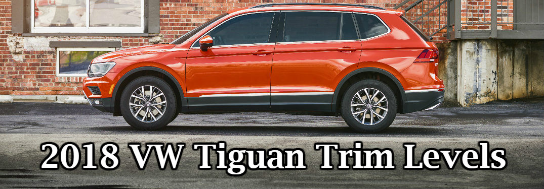 2018 Volkswagen Tiguan Trim Comparison