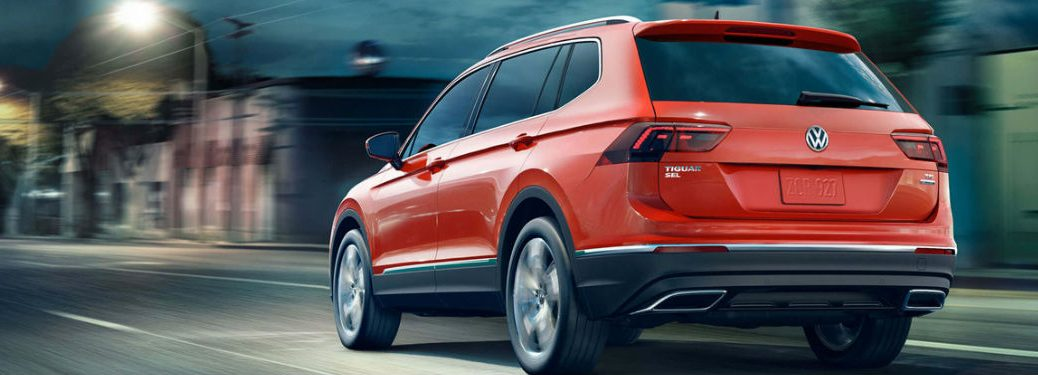 2018 Volkswagen Tiguan in orange