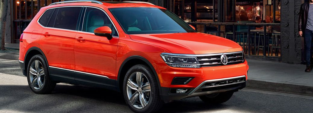 How Much Space Does The Tiguan Have Compass Volkswagen