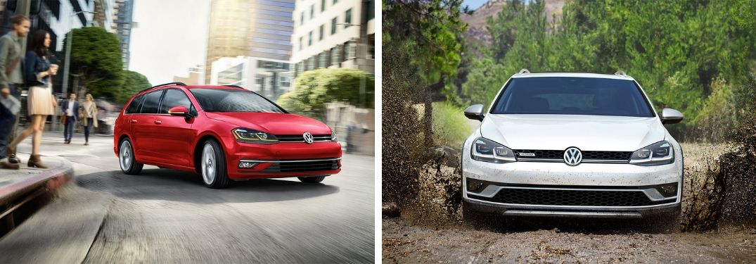 How is the 2019 Golf SportWagen Different From the 2019 Golf Alltrack?