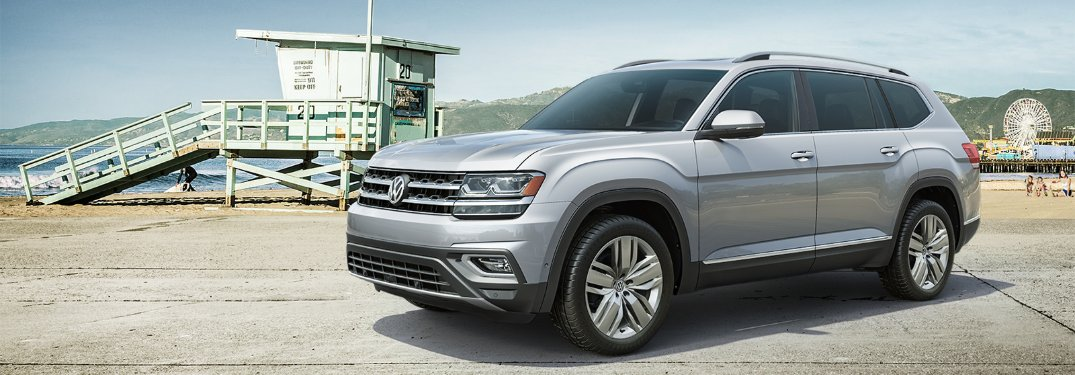 2019 Volkswagen Atlas Storage Space