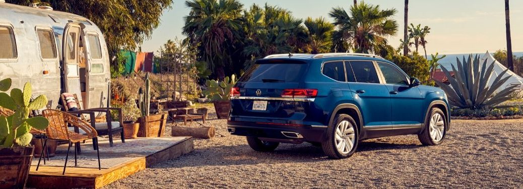 2021 Volkswagen Atlas Parked on Beach