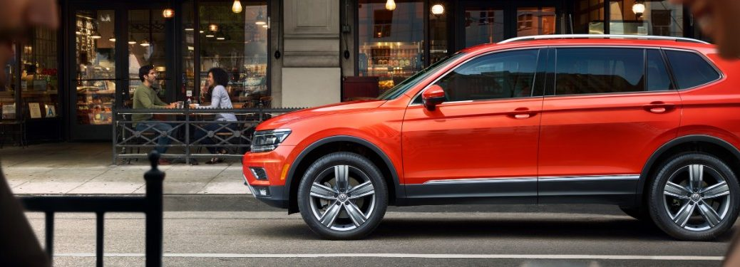2020 Volkswagen Tiguan Parked on Street