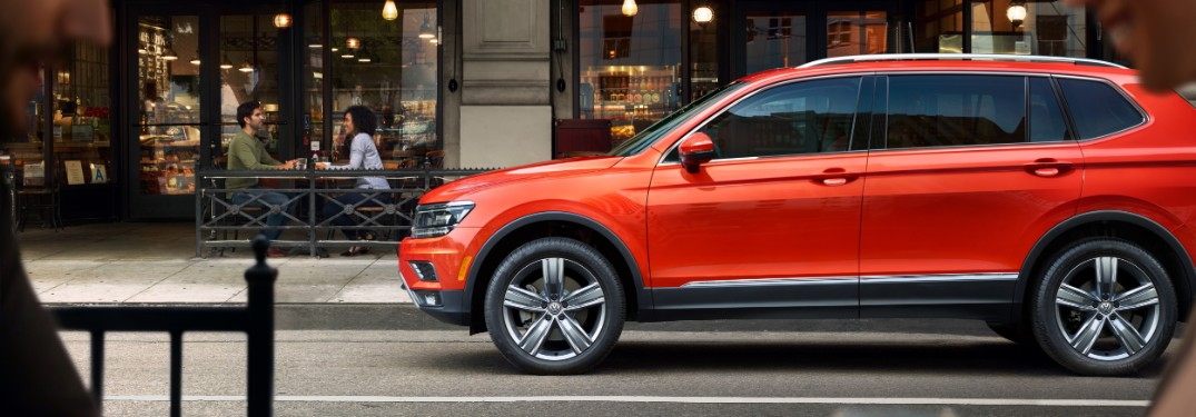 2020 Volkswagen Tiguan Seating Capacity
