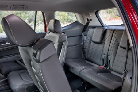 2021 Volkswagen Atlas interior back seats