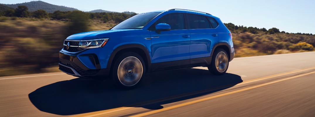 VW expands its crossover SUV lineup with the Taos