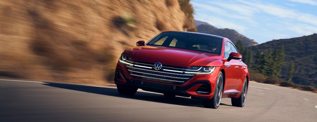 A head-on photo of the 2021 Volkswagen Arteon.