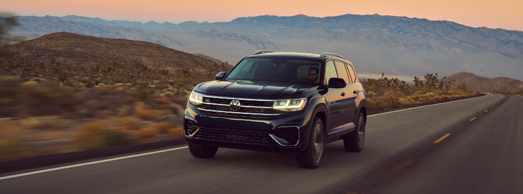 Volkswagen sets the pace with three-row crossover SUVs
