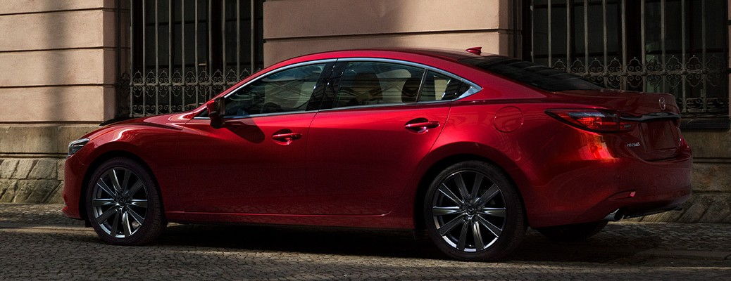 Side view of a 2021 Mazda6