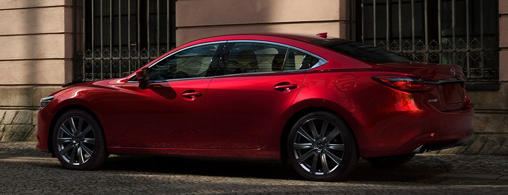 Side view of the 2021 Mazda6