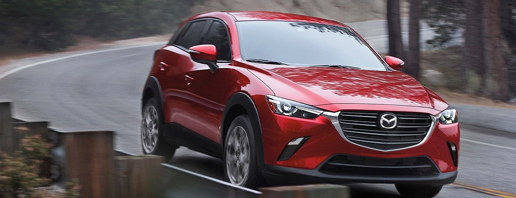What safety features can you find in the 2021 Mazda CX-3?
