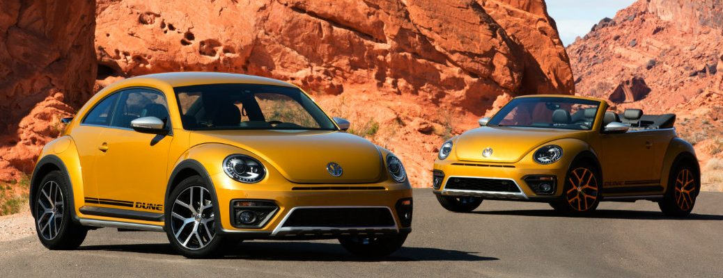 2016 Volkswagen Beetle Design Features