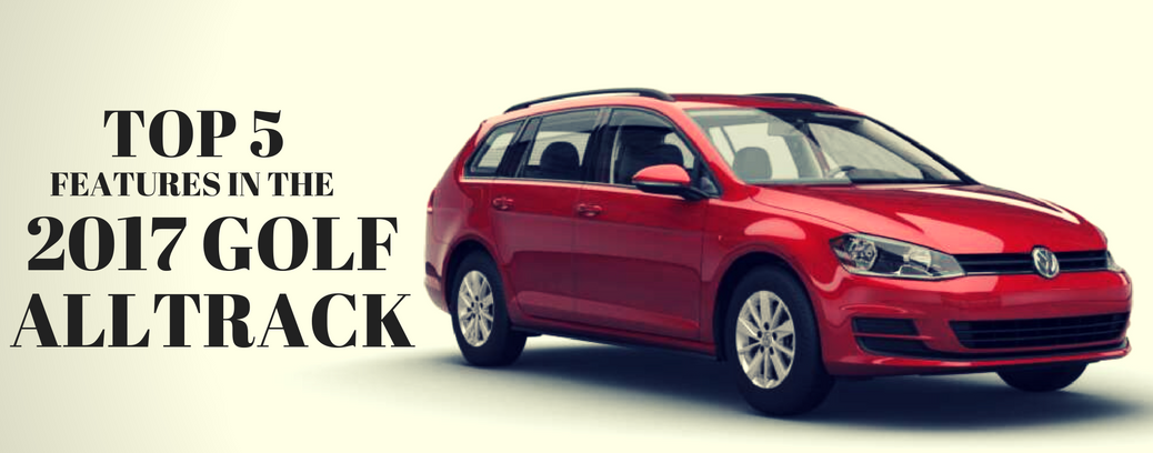 TOP 5 FEATURES IN THE ALLTRACK