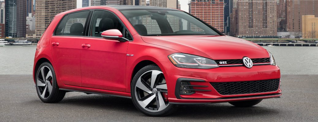 2018 Volkswagen Golf GTI new features and release date