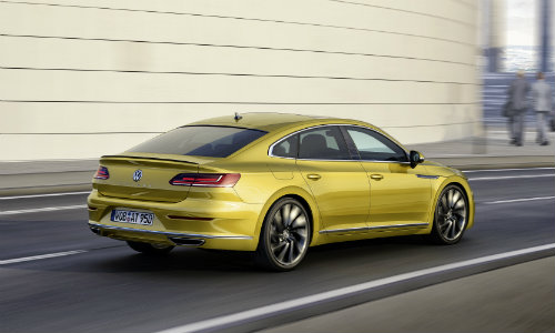 Volkswagen Arteon performance and exterior styling