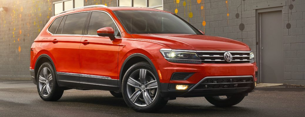 2018 Volkswagen Tiguan trim levels and pricing