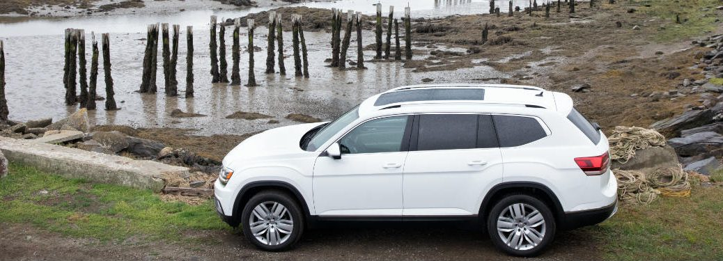 2018 Volkswagen Atlas parked by a river