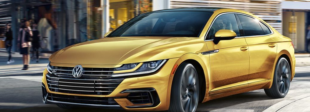 2019 Volkswagen Arteon parked on a city street