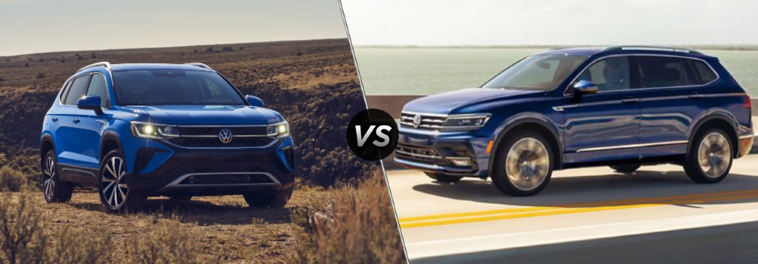 What's the Difference Between the 2022 Volkswagen Taos and the 2021 Volkswagen Tiguan?