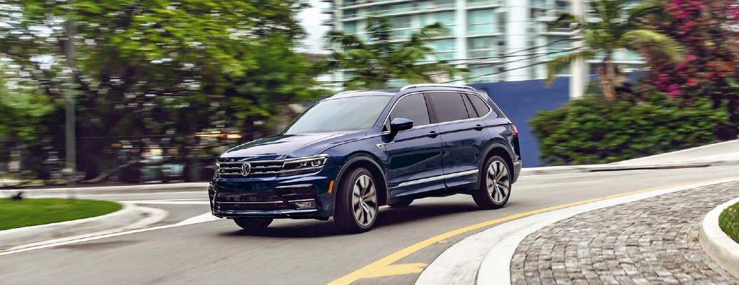 Does the 2021 Volkswagen Tiguan have All-Wheel Drive?